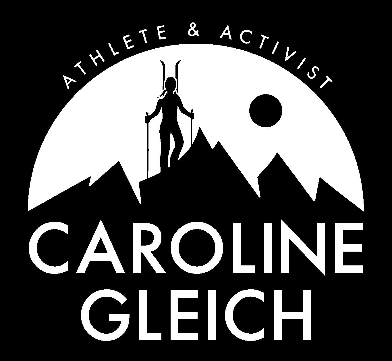 Logo for Caroline Gleich, Athlete and Activist