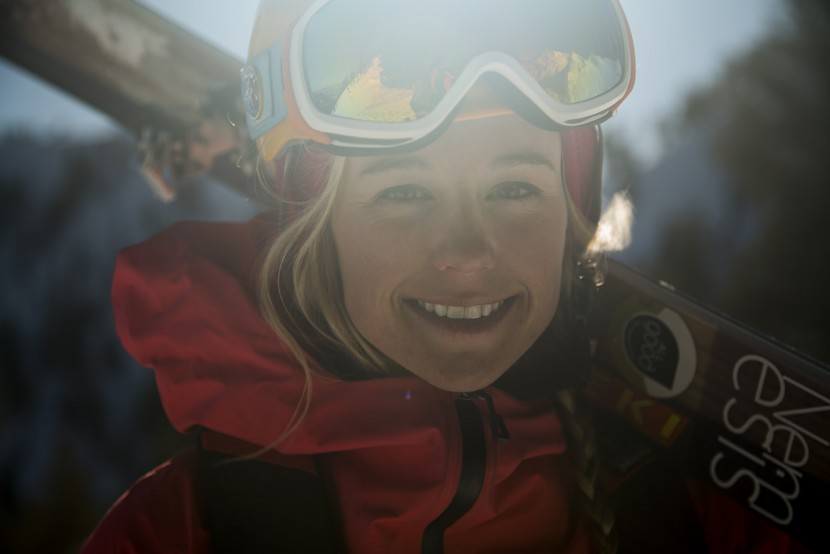 Caroline Gleich, Wasatch Mountains, Utah photo:Adam Clark
